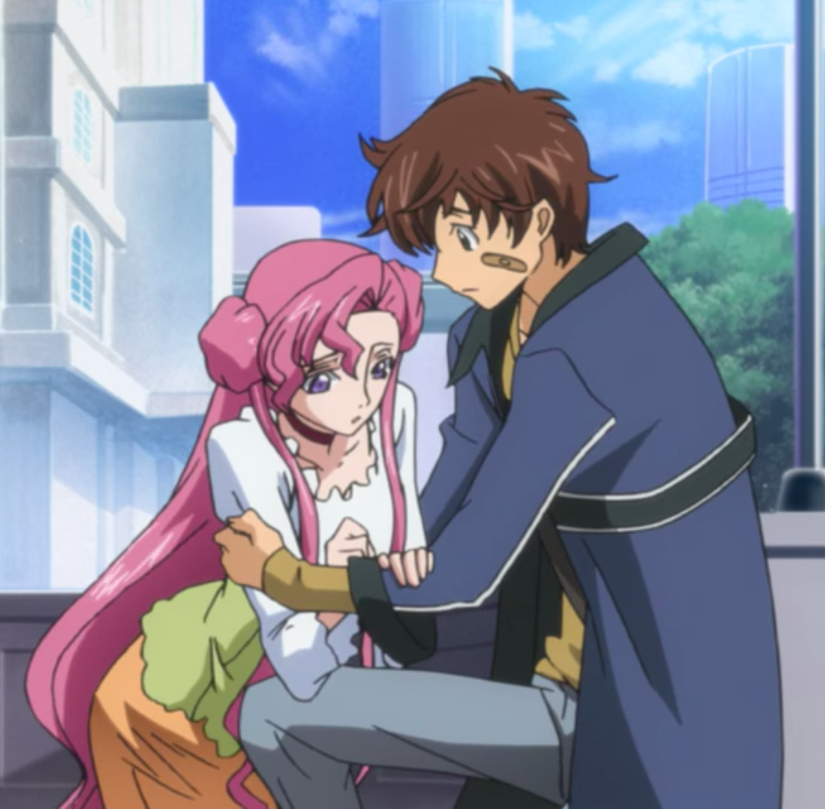 How to properly Date a Suicidal Girl? Part 1. Euphemia, who didn't Notice. — Code Geass.