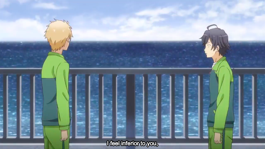 Another confession of Hayato Hayama to Hachiman's character